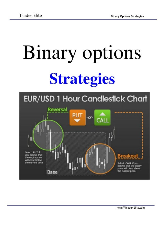 Strategy in binary options
