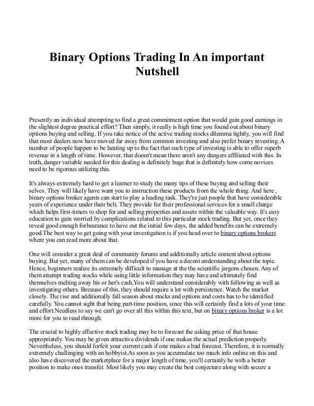 Option trading training uk