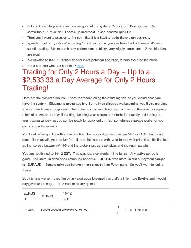 Binary option expiration