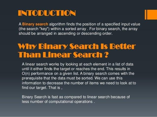 Binary Search - Design & Analysis of Algorithms Slide 2