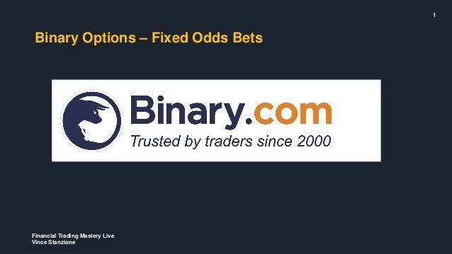 Make a living off binary options