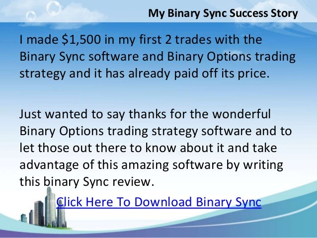 mobile binary options trading strategy software