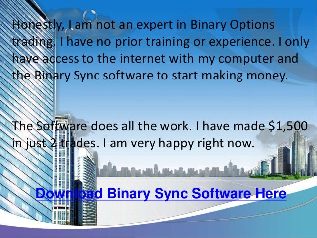 Binary options software download free