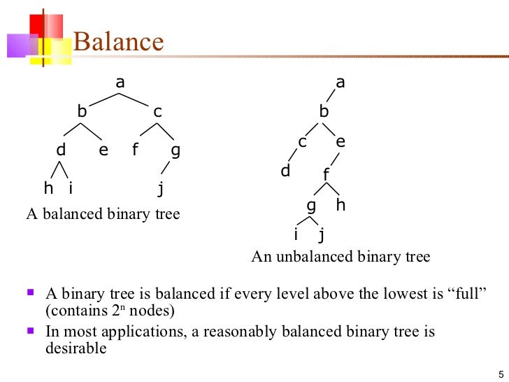 binary tree A software developer gives a brief, but informative overview of binary trees, how they are structured, how data gets classified, and its implementations.