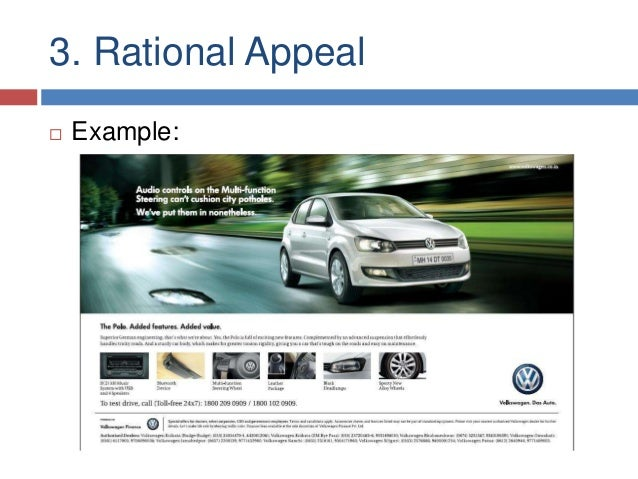 rational appeal example