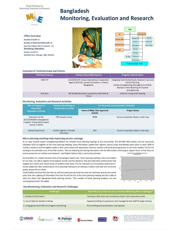 Botswana                                                                                          Monitoring,Evaluationa...