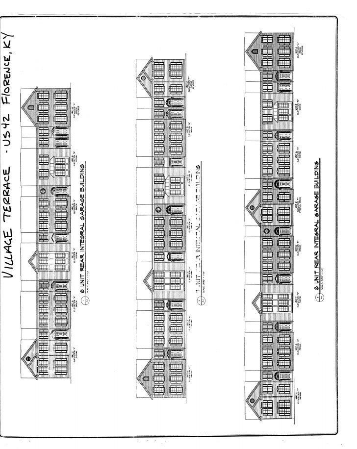 Full set of Townhouse plans
