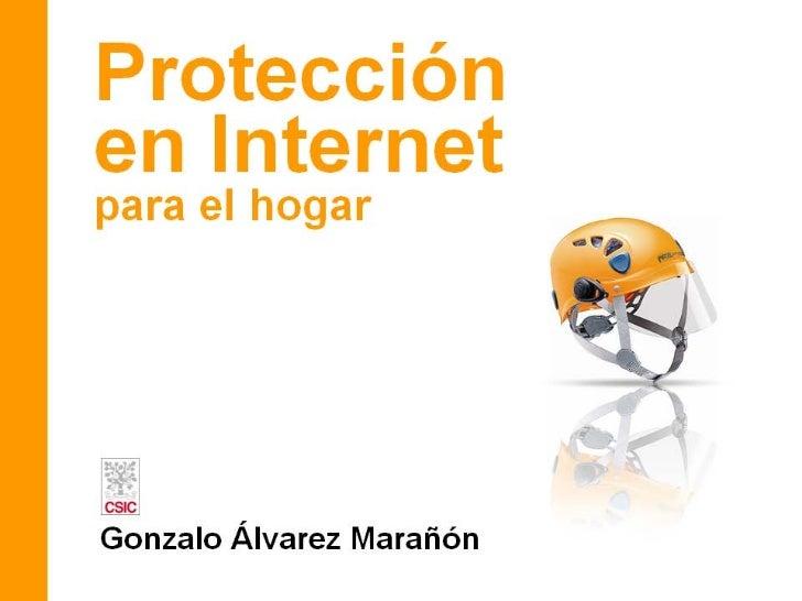 Protección en Internet para el hogar