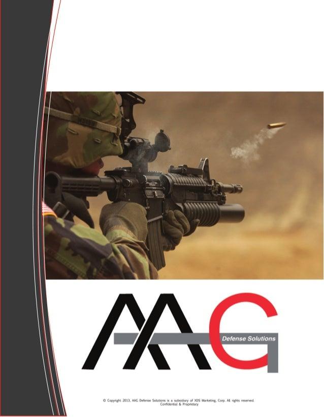 AAG Defense Solutions 2014 Ammunition Catalog