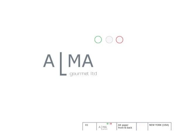 Brand Identity Time Alma NY