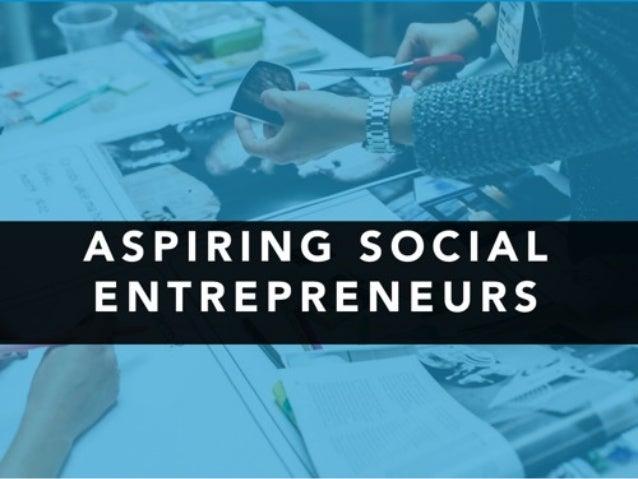 Challenges for social entrepreneurs