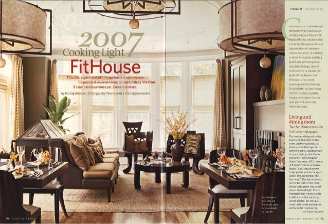Cooking Light Magazine Fit Home