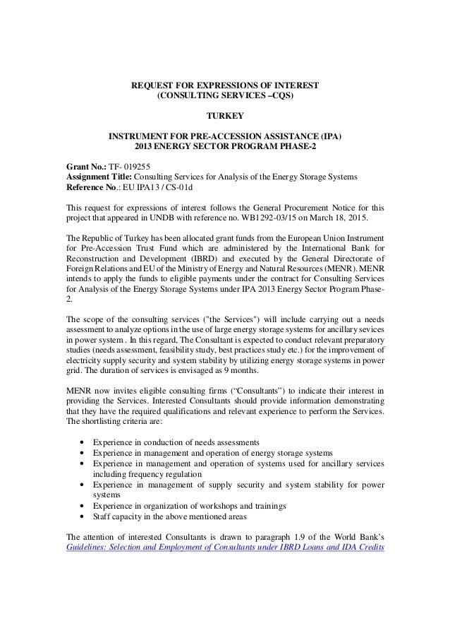 Enerji bakanl depolama iletim enerji piyasas senaryolar ve ver request for expressions of interest consulting services cqs turkey instrument for pre spiritdancerdesigns Gallery