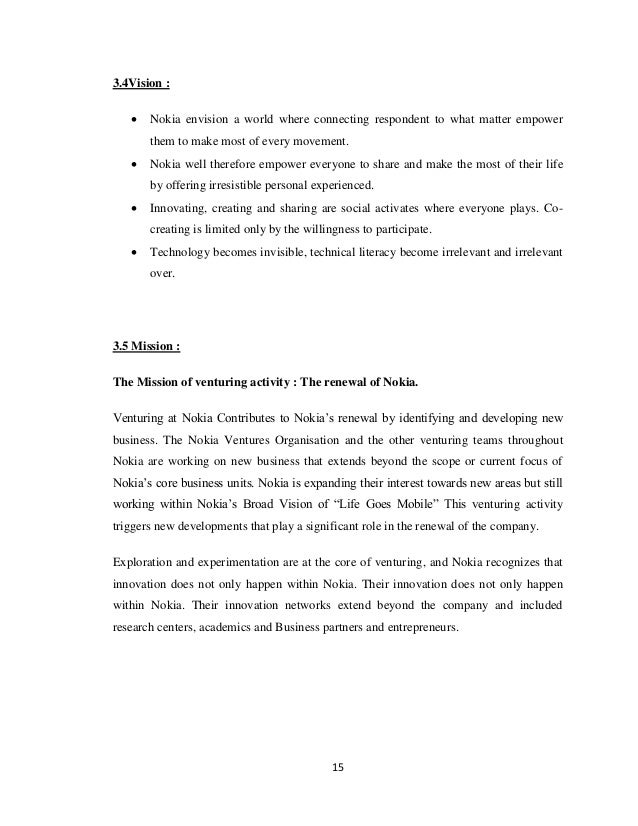 customer satisfaction in nokia Project report on customer satisfaction of nokia mobile in rohtak submitted towards partial fulfillment of requirement for award of.