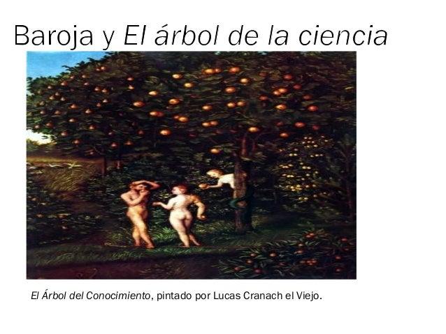 El Árbol del Conocimiento, pintado por Lucas Cranach el Viejo.