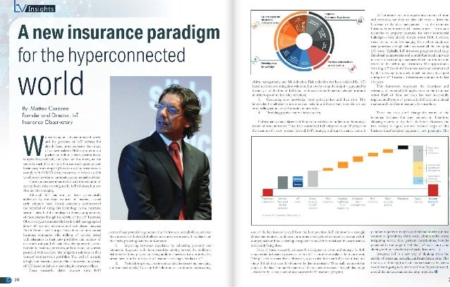 A new insurance paradigm for the hyperconnected world