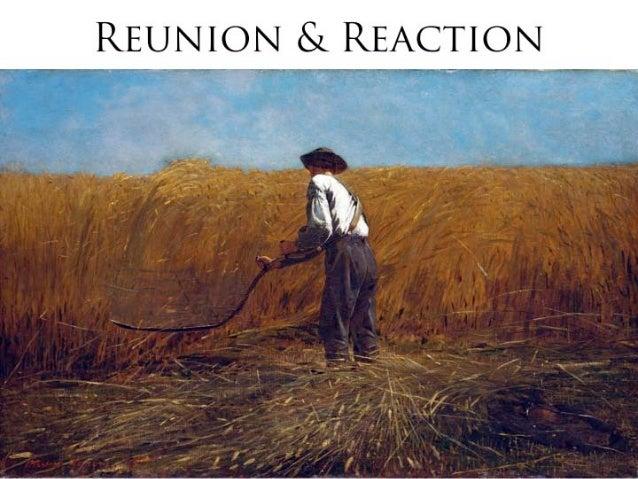 Reunion & Reaction