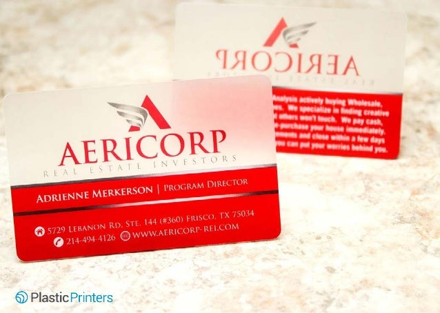 50 unique plastic business cards 17 aericorp real estate investors beautifully designed satin business card reheart Gallery