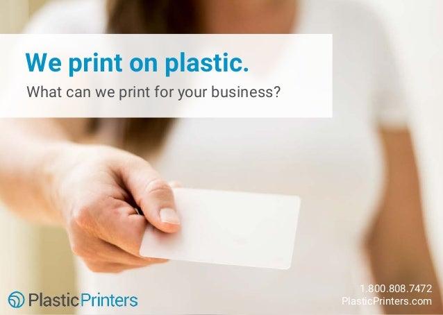50 Unique Plastic Business Cards Slide 2