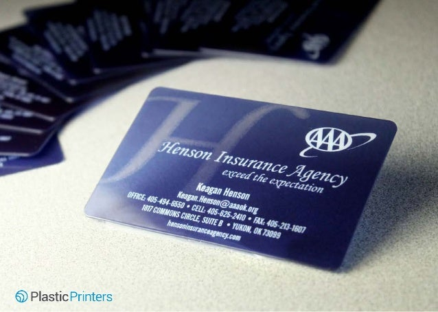 50 unique plastic business cards business card or photo booth professional 6 henson insurance reheart Images