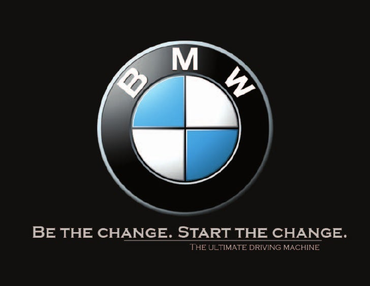 BMW creative brief