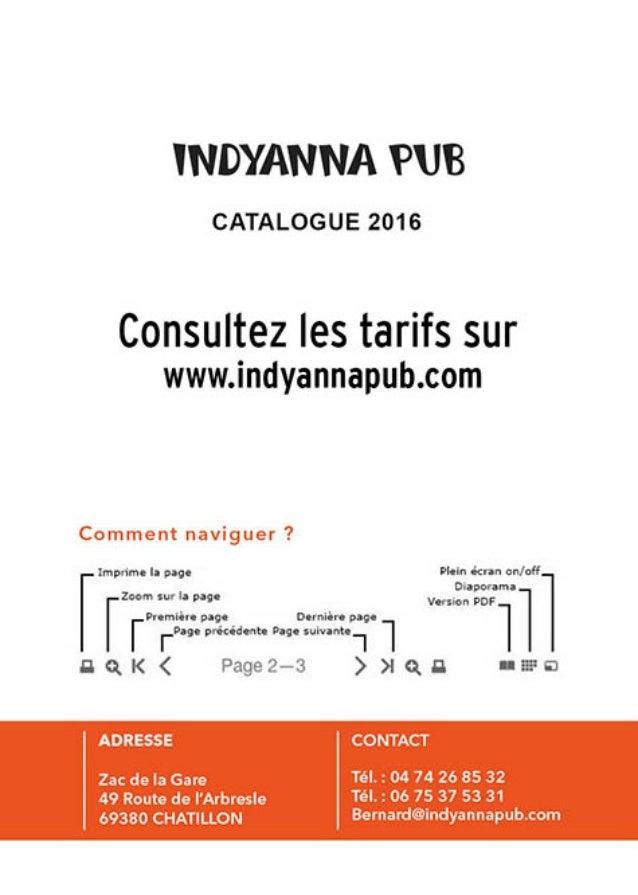 Indyanna pub Catalogue