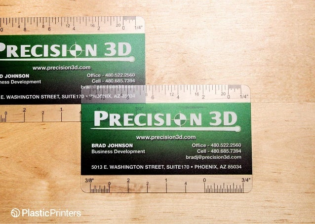 50 cool business cards that always get a second look precision 3d clear contractor business cards with ruler colourmoves Choice Image