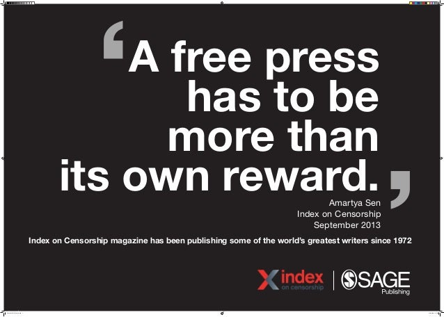 Quotes On Freedom Of Expression From Index On Censorship