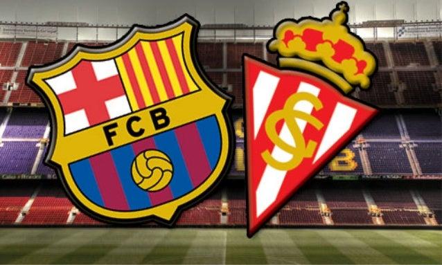 Sporting Vs Barcelona – Highlights