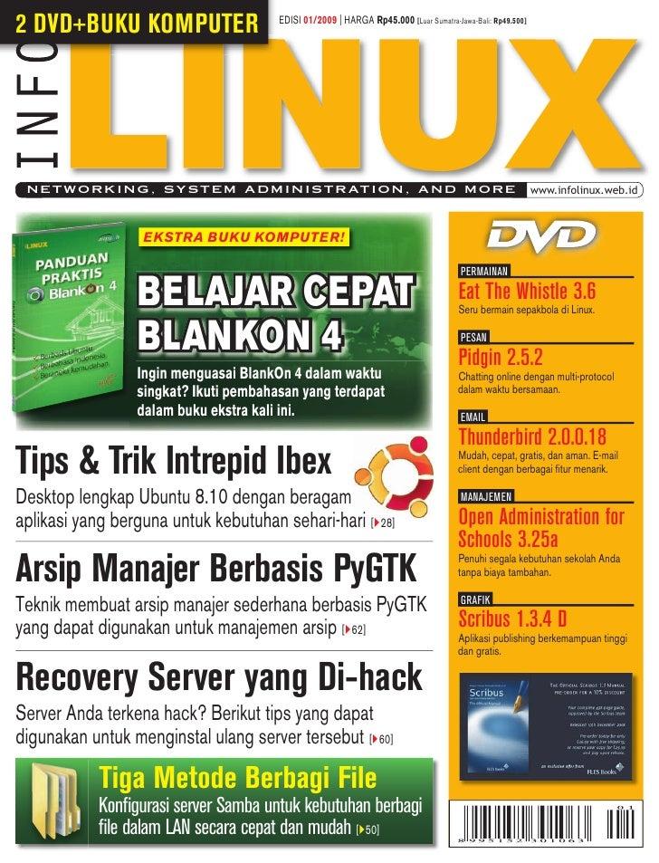 2 DVD+BUKU KOMPUTER                     EDISI 01/2009 | HARGA Rp45.000 [Luar Sumatra-Jawa-Bali: Rp49.500]      N E T W O R...