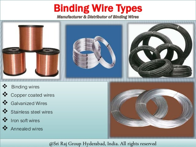 Binding Wire Manufacturers in Hyderabad