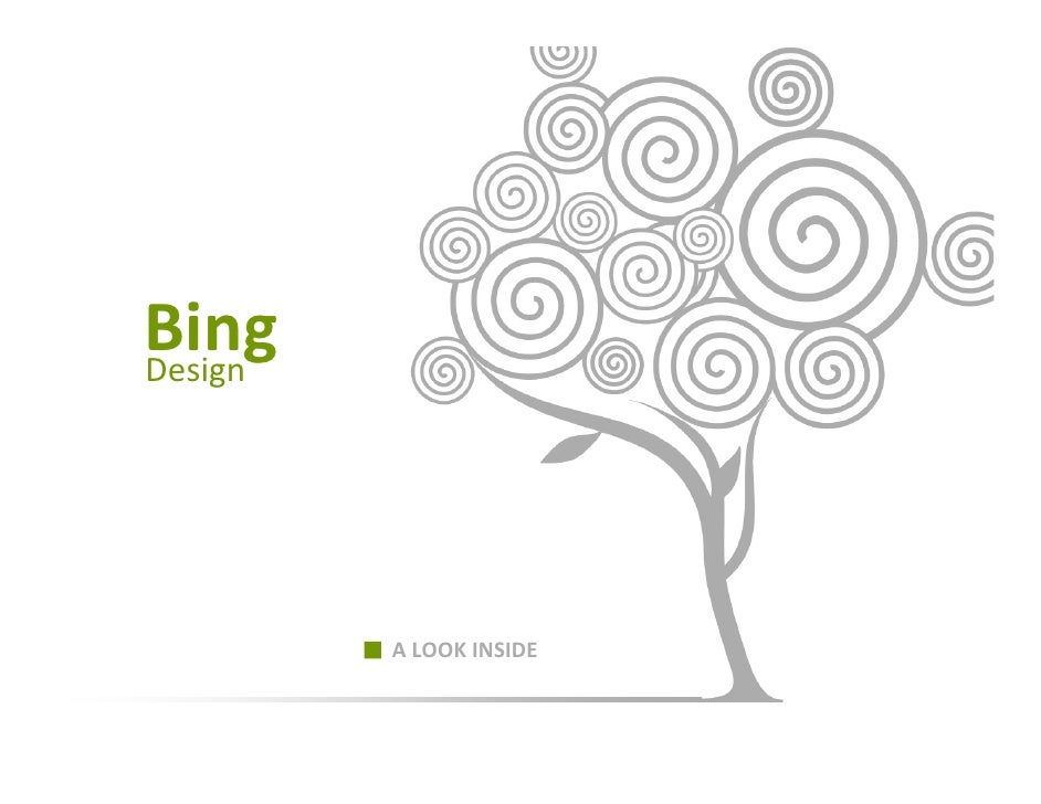 Bing Design              ALOOKINSIDE