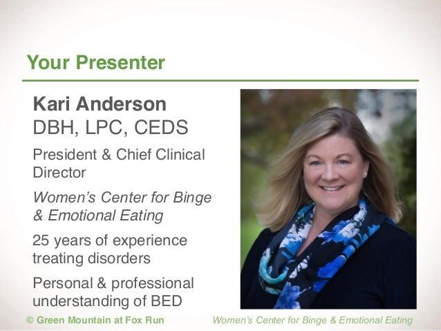 Binge and Emotional Eating 101 - Understanding Binge Eating Slide 3
