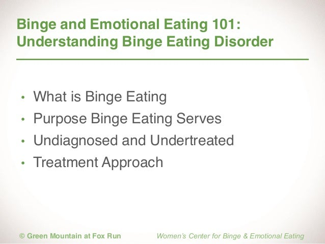 the psychological explanation of binge eating disorder Risk factors for all eating disorders involve a range of biological,  to those with  anorexia nervosa, bulimia nervosa, binge eating disorder, or osfed  and/or  type of food they were eating in the form of dieting, other causes can include.
