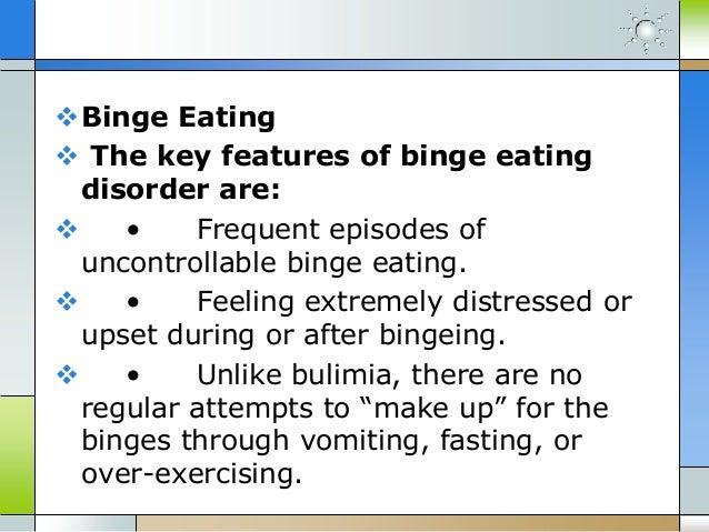 Binge eating vs emotional eating vs overeating Slide 3