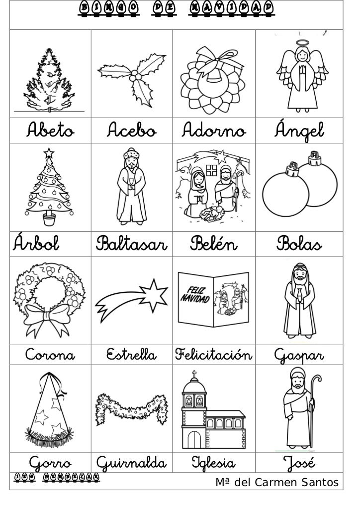 Actividades para navidad for Actividades de navidad para colorear