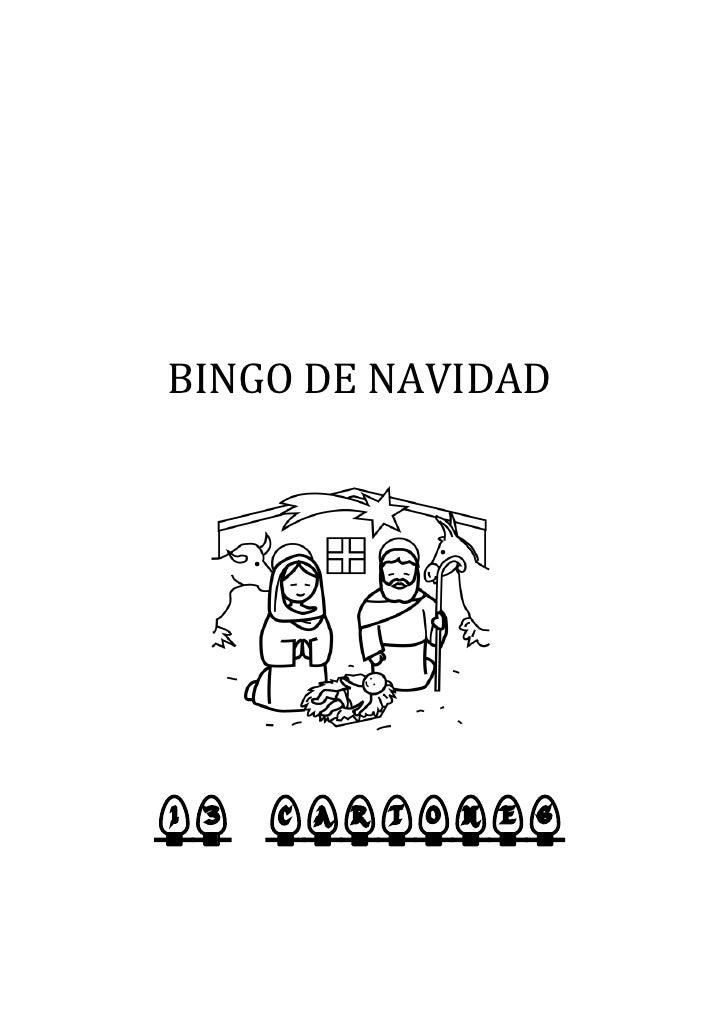BINGO DE NAVIDAD     13 CARTONES