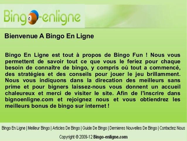 Bienvenue A Bingo En LigneBingo En Ligne est tout à propos de Bingo Fun ! Nous vouspermettent de savoir tout ce que vous l...