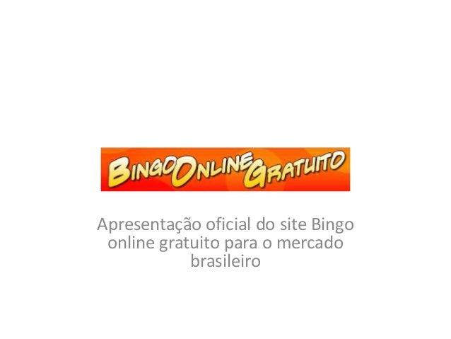 Apresentação oficial do site Bingo online gratuito para o mercado brasileiro
