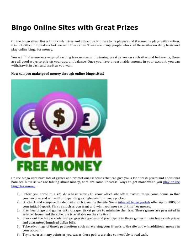 Online games for prizes and cash