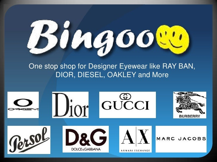 One stop shop for Designer Eyewear like RAY BAN, DIOR, DIESEL, OAKLEY and More<br />