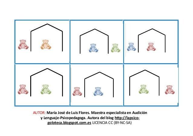 AUTOR: María José de Luis Flores. Maestra especialista en Audición y Lenguaje-Psicopedagoga. Autora del blog http://lapsic...