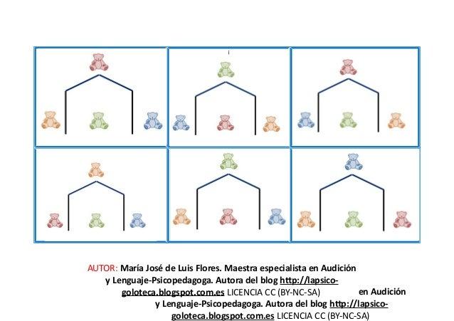 ¡ AUTOR: María José de Luis Flores. Maestra especialista en Audición y Lenguaje-Psicopedagoga. Autora del blog http://laps...