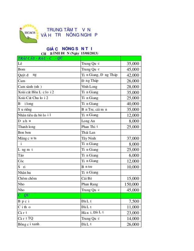 TRÁI CÂY - RAU - CỦ - QUẢ Lê Trung Quốc 35,000 Bom Trung Quốc 45,000 Quýt đường Tiền Giang, Đồng Tháp 42,000 Cam Đồng Tháp...