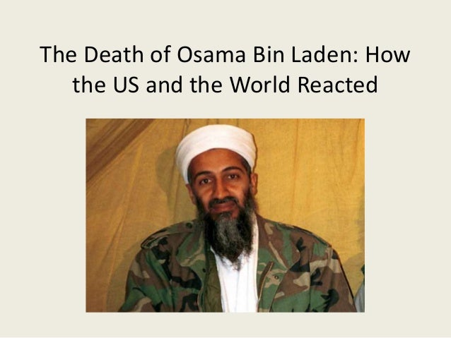 the life of osama bin laden essay Children of osama bin laden: it was evident from the videos and photographs that the children of bin laden had led a life of great suffering the descendants of a rich and wealthy family were made fugitives and lived their entire lives seeking shelter in different places to evade capture.