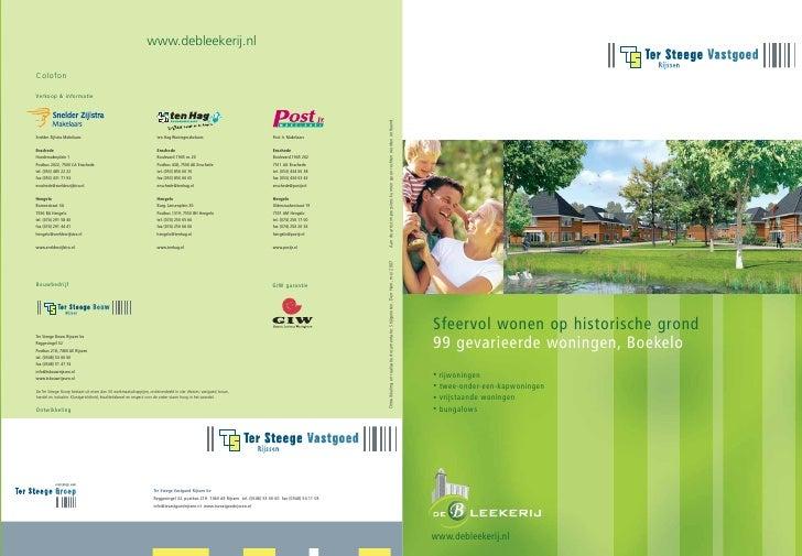 www.debleekerij.nl                                                                 www.debleekerij.nlColofon    ColofonVer...