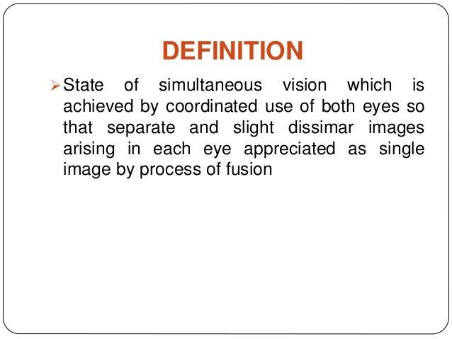 Simultaneous Definition