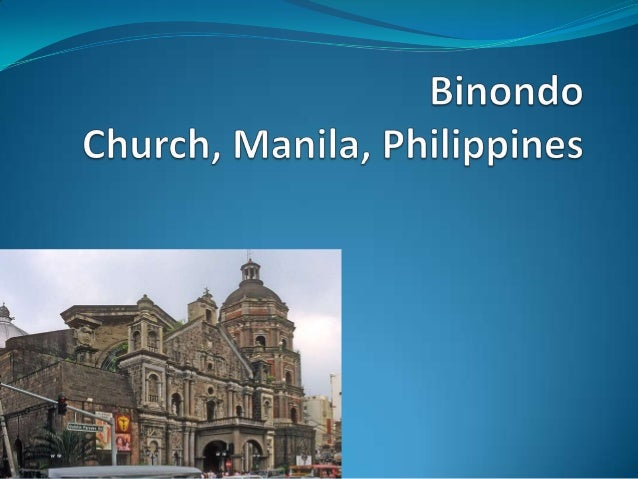  Binondo Church in Manila Binondo Church is also known as Minor Basilica of St. Lorenzo Ruiz is located in binnondo,mani...