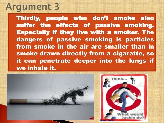 Analytical Exposition Dangerous Of Smoking