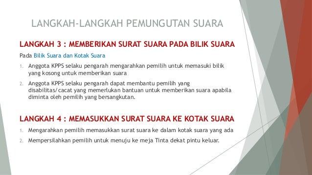 Tata Cara Pemilihan Kepala Desa